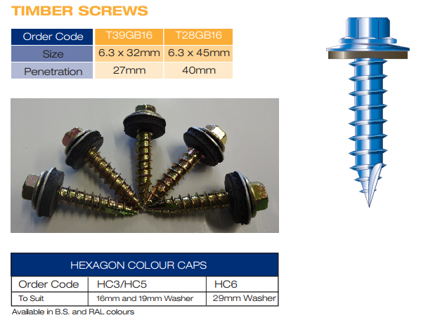 Fixings And Sealants For Roofing Mcs Roofing And