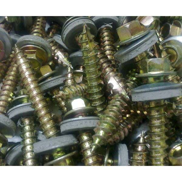 Steel Corrugated Box Profile Roofing Sheet Fixing And