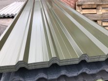 Olive Green Nova Polyester Coated Roofing Sheets