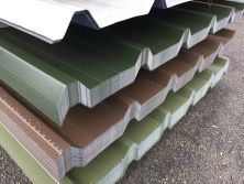 Vandyke Brown Plastisol Coated Roofing Sheets