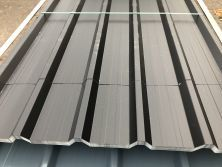 Black Nova Polyester Coated Roofing Sheets